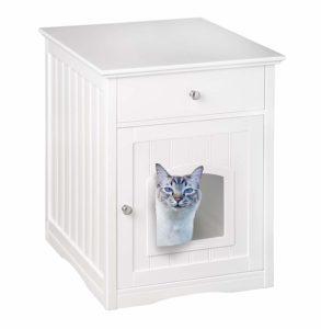 beste versteckte Katzenklo