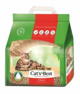 bestes Katzenstreu aus Naturfasern