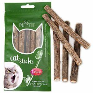 besten Kaustäbchen als Zahnpflege für Katzen